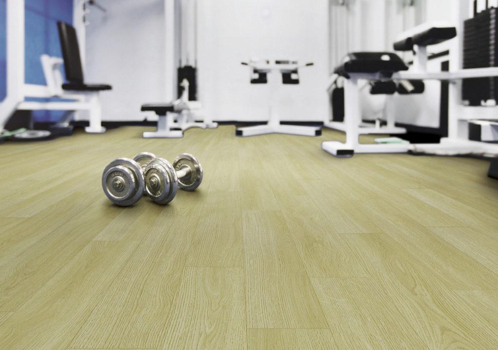 Vinyl Lantai Lapangan Fitnes