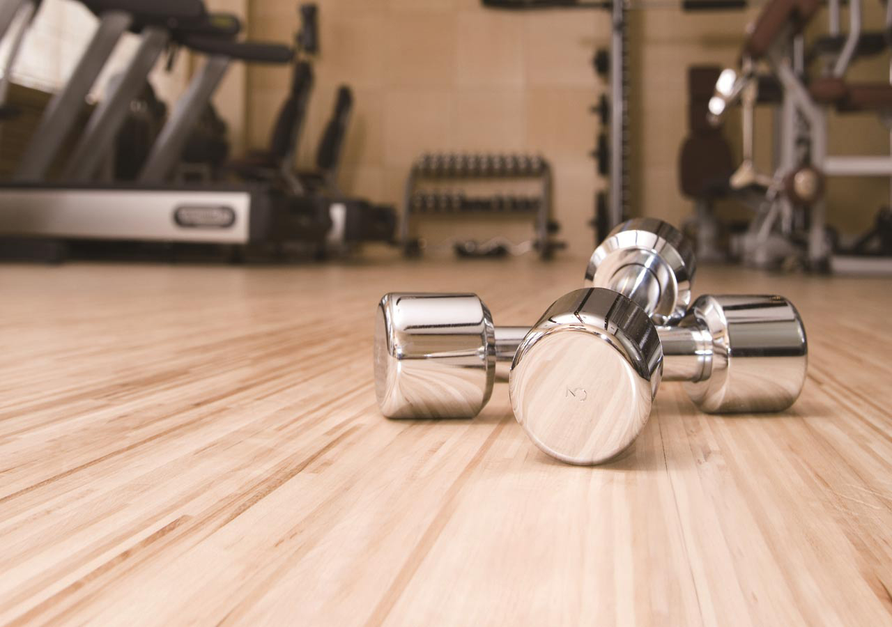 Vinyl Lantai Untuk Lapanagan Gym
