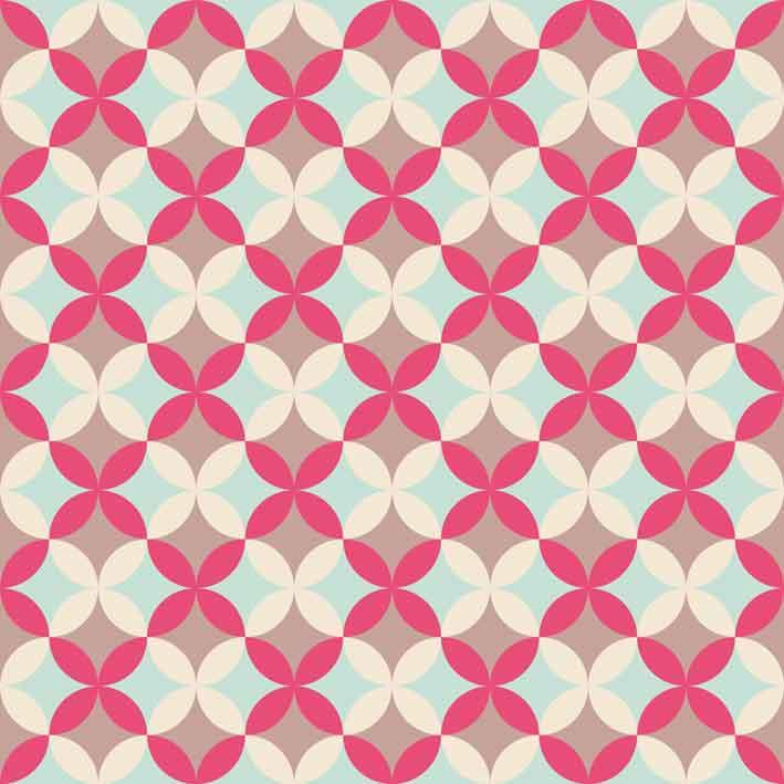 Wallpaper Cantik Motif Fabric AL C 004