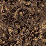 Wallpaper Cantik Motif Fabric AL-C-013