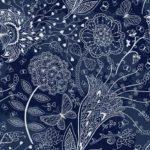 Wallpaper Cantik Motif Fabric AL-C-036