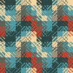 Wallpaper Cantik Motif Fabric AL-C-047