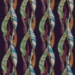 Wallpaper Cantik Motif Fabric AL-C-074