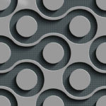 Wallpaper Dinding Motif Element AL-B-057