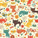 Wallpaper Motif Kids AL-E-003