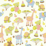 Wallpaper Motif Kids AL-E-020