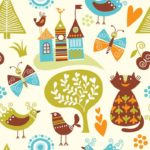 Wallpaper Motif Kids AL-E-023