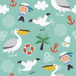 Wallpaper Motif Kids AL-E-026