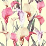 Wallpaper Murah Motif Floral AL-D-004