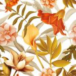 Wallpaper Murah Motif Floral AL-D-005