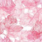 Wallpaper Murah Motif Floral AL-D-007