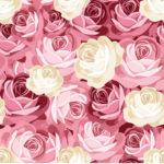 Wallpaper Murah Motif Floral AL-D-009