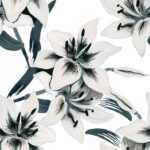 Wallpaper Murah Motif Floral AL-D-014