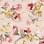 Wallpaper Murah Motif Floral AL-D-017