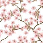 Wallpaper Murah Motif Floral AL-D-021