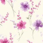 Wallpaper Murah Motif Floral AL-D-027