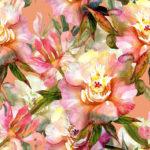Wallpaper Murah Motif Floral AL-D-030