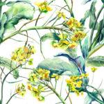 Wallpaper Murah Motif Floral AL-D-033