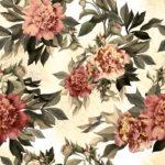 Wallpaper Murah Motif Floral AL-D-035