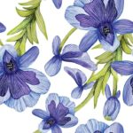 Wallpaper Murah Motif Floral AL-D-038