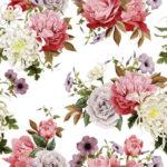Wallpaper Murah Motif Floral AL-D-040