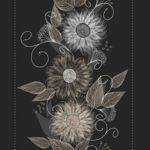 Wallpaper Murah Motif Floral AL-D-041