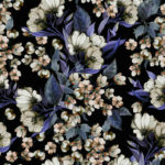 Wallpaper Murah Motif Floral AL-D-051