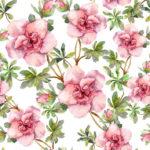 Wallpaper Murah Motif Floral AL-D-052