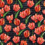 Wallpaper Murah Motif Floral AL-D-059