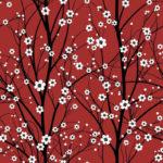 Wallpaper Murah Motif Floral AL-D-064