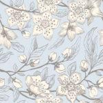 Wallpaper Murah Motif Floral-AL-D-073