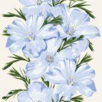 Wallpaper Murah Motif Floral AL-D-075