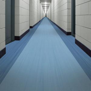 Hasil Pemasangan Lantai Rumah Sakit