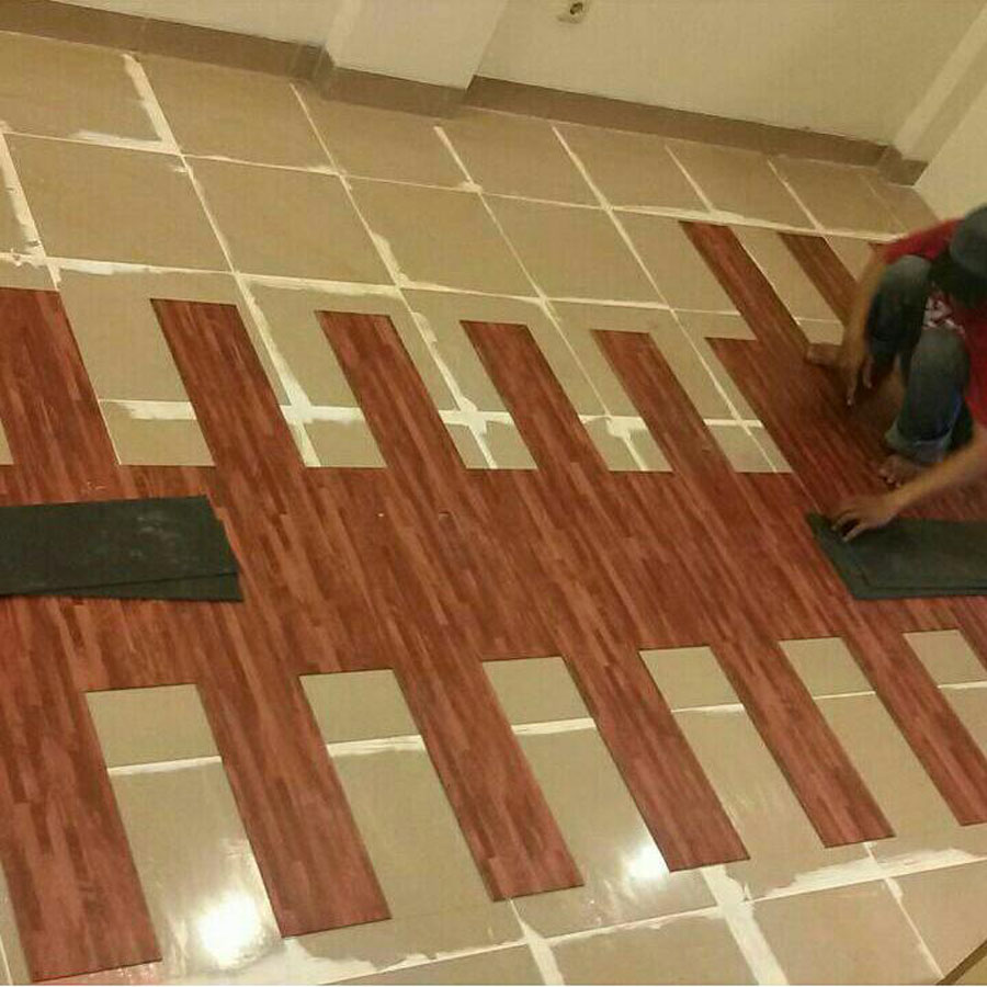 Pemasangan Vinyl Plank
