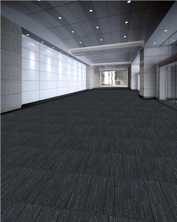 Pola Pemasangan Karpet Tile